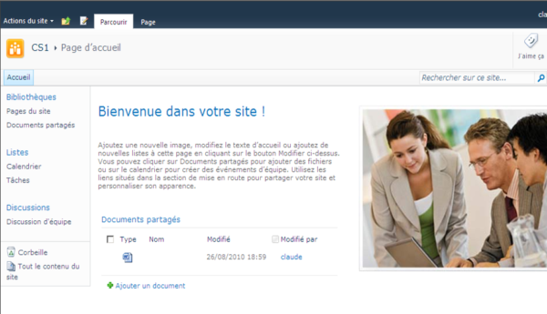 Découvrir Office System Service Pack 1