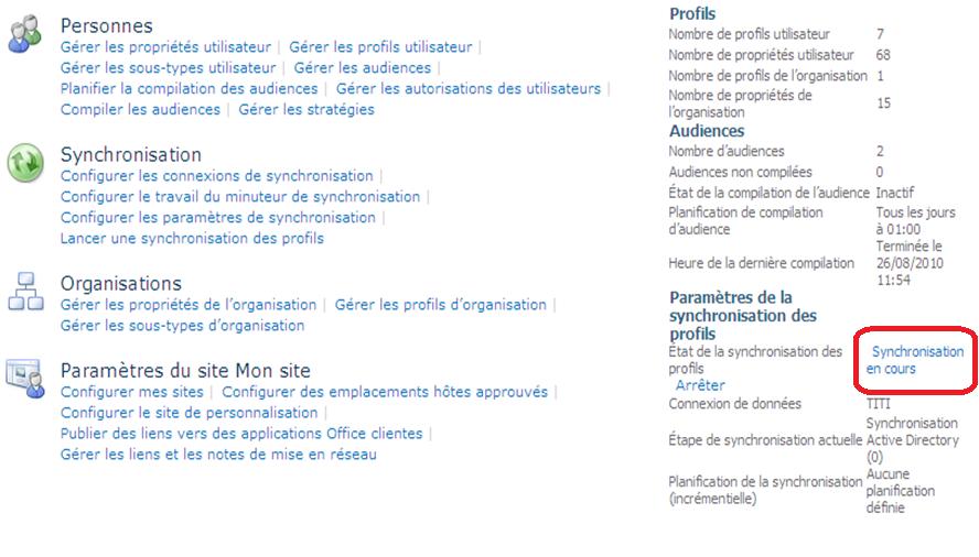Intégration Office avec SharePoint