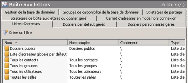 Nouveautés Exchange Server 2010