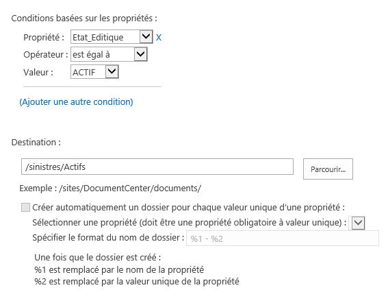 Classer automatiquement