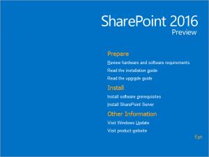 Hybridation SharePoint 2016