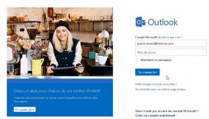 Récupérer son mot de passe Outlook