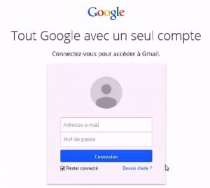 Récupérer son mot de passe Gmail