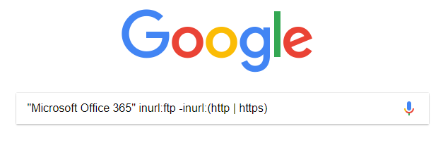 Syntaxe Google pour un site FTP