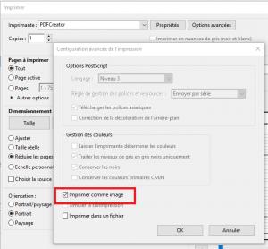 PDF avec ou sans glyphe