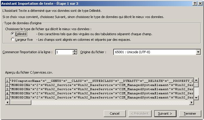 PowerShell pour créer un fichier
