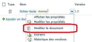 Historique des versions d'un fichier texte
