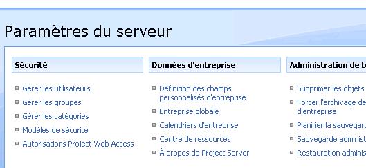 Synchronisation De Project Avec Active Directory