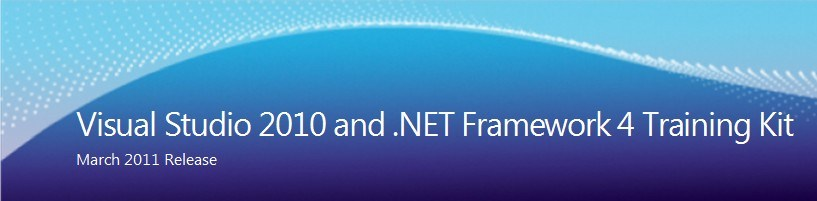 Visual Studio 2010 et .Net Framework 4 Training Kit