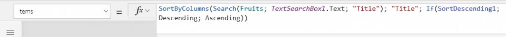 Formule composée de fonctions