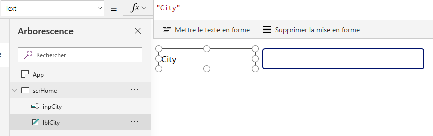 Formulaire PowerApps multilingue