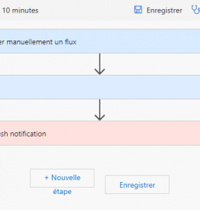 Modification du flux