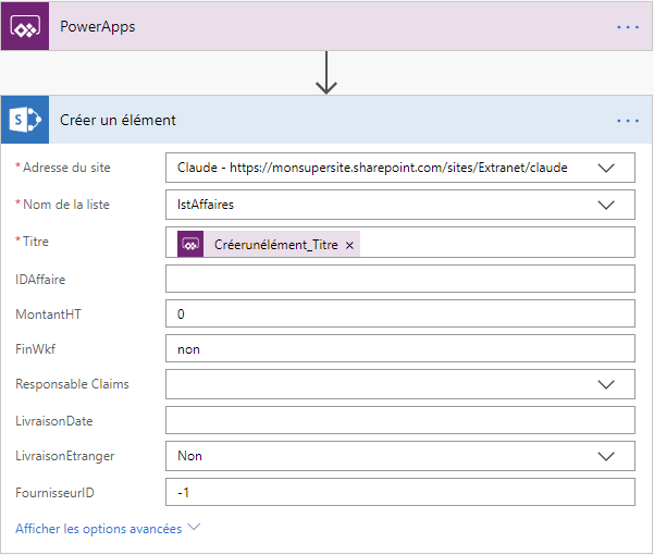 Flux PowerApps