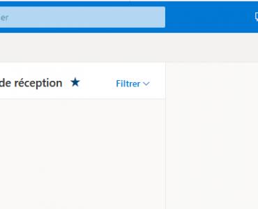 Ouverture boite aux lettres Outlook Office 365
