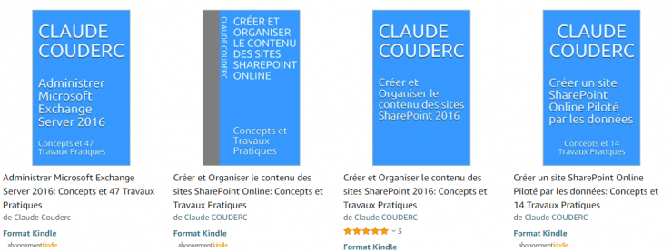 Ebook 9,99 € sur SharePoint, IIS et Exchange