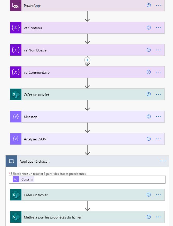 Télécharger un fichier dans une bibliothèque SharePoint avec Power Automate