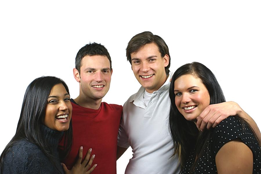 Equipe de jeunes gens (photo d'illustration)